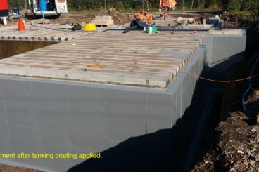 Tanking and Waterproofing